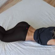 Cherry Chi Chi_Crotchless Yoga Pants_Girl on Bed_1980x1060