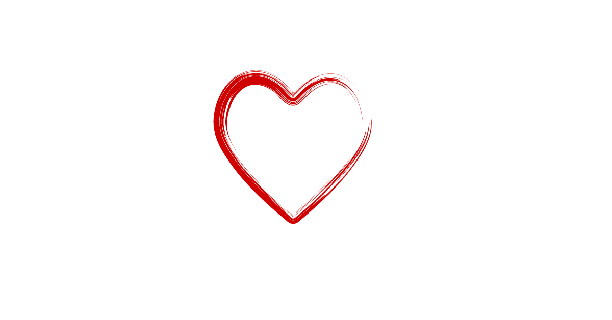 Hand drawn, Cherry ChiChi love heart.